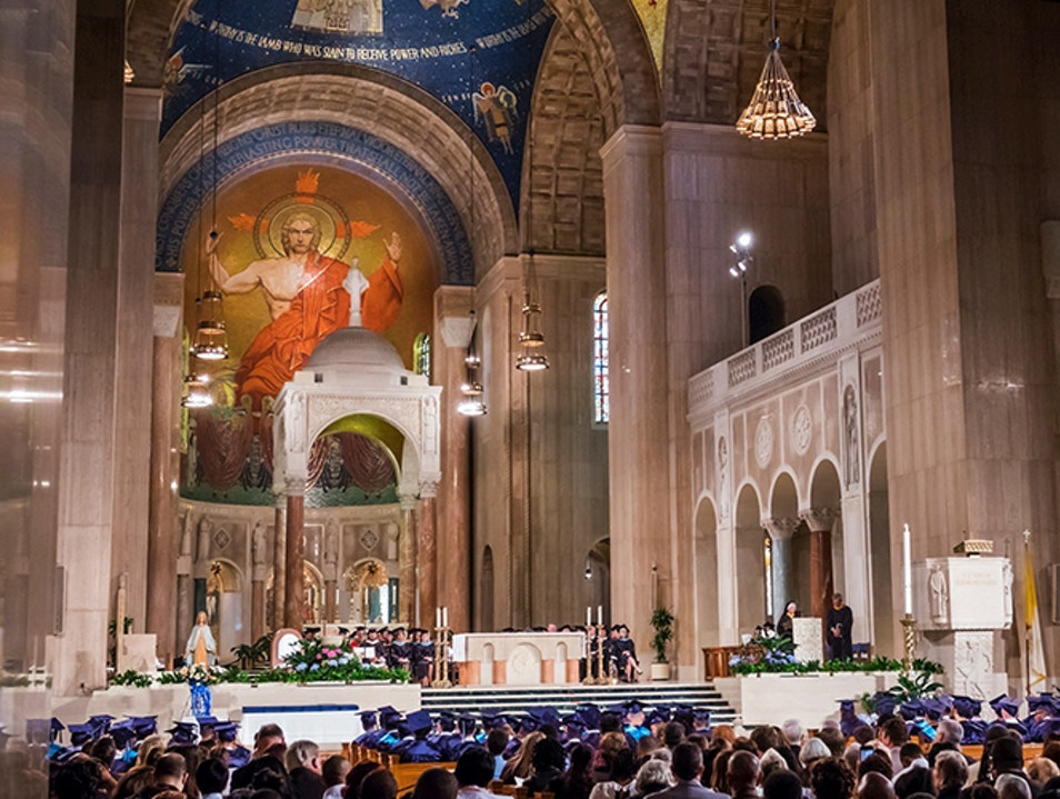 Basilica of the National Shrine of the Immaculate Conception Washington, D.C. District of Columbia United States