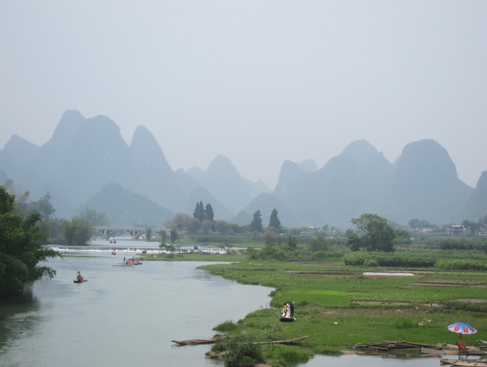 The Li River Valley Guilin  China