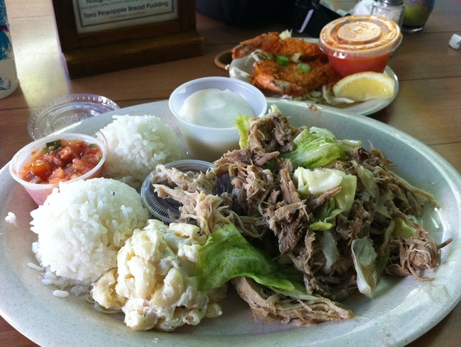 Taste Island Cuisine at Aloha Mixed Plate