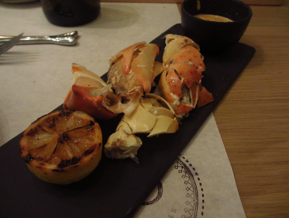 Stone crab claws - a Florida delicacy! Sarasota Florida United States