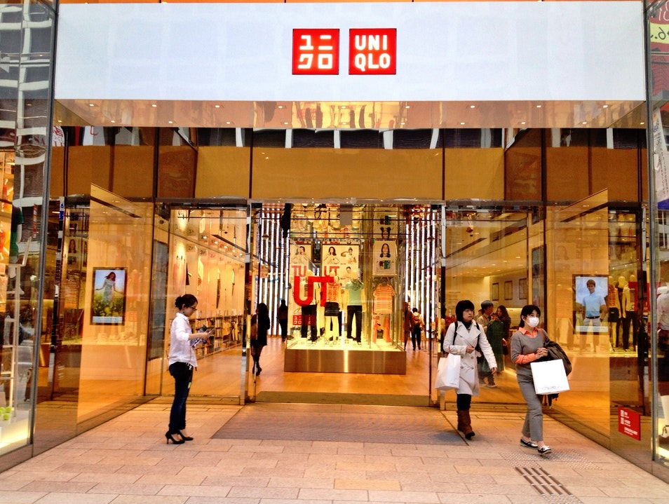 Shop the Uniqlo Flagship Store in Ginza