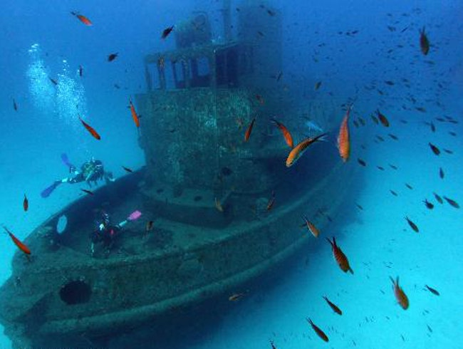 Scuba Diving Site: Tug Boat Rozi