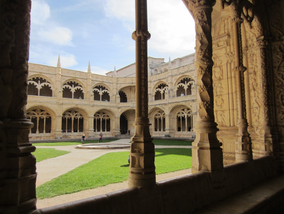 Tranquil and Beautiful Monastery in Lisbon