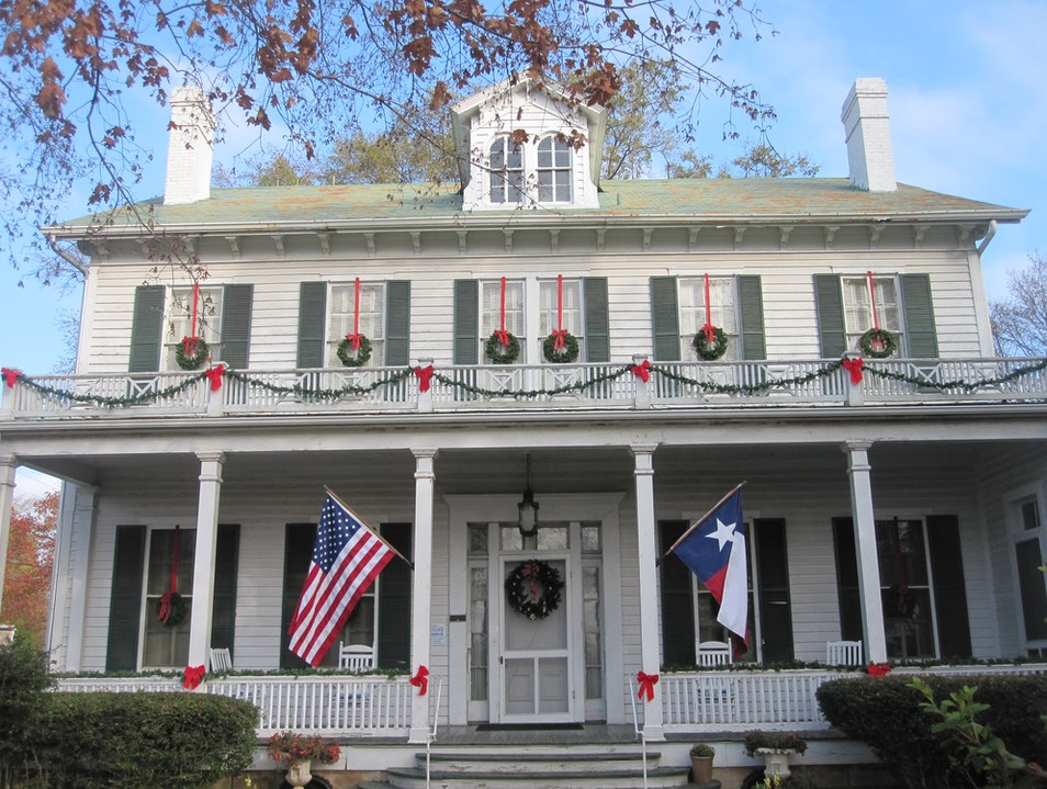 Starr Family Home State Historic Site Marshall Texas United States