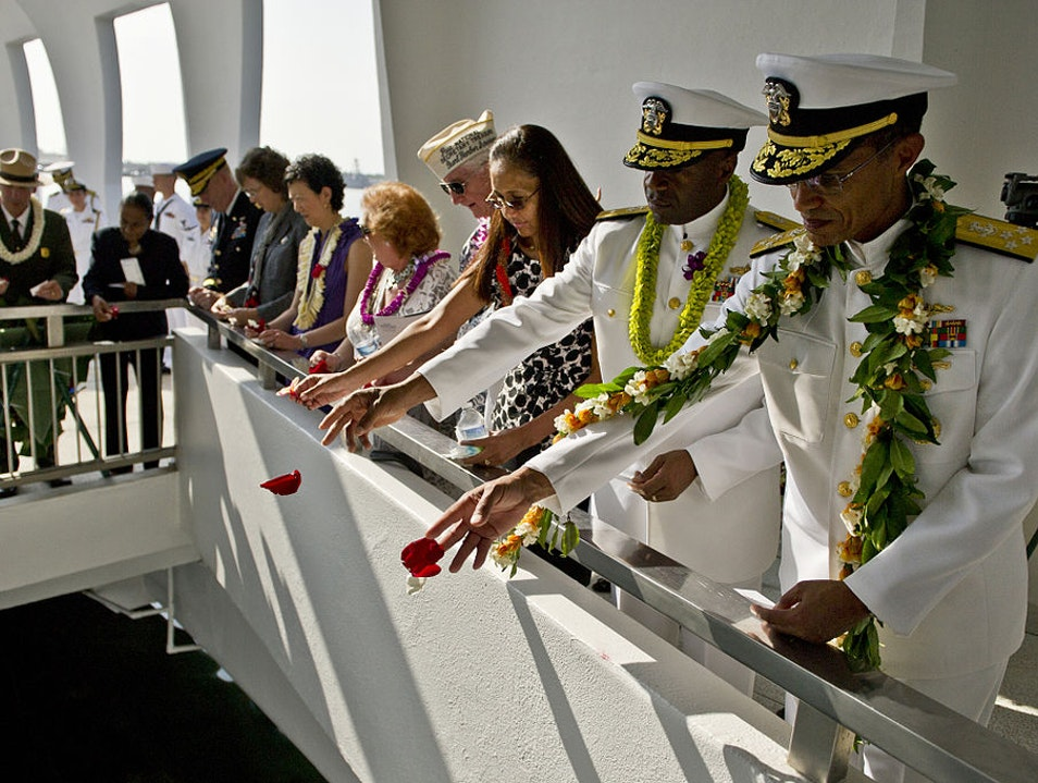 Remembering Pearl Harbor Honolulu Hawaii United States