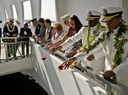 USS Arizona Memorial Honolulu Hawaii United States