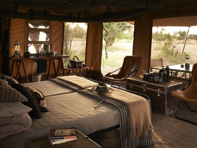 Singita's new mobile tented camp.