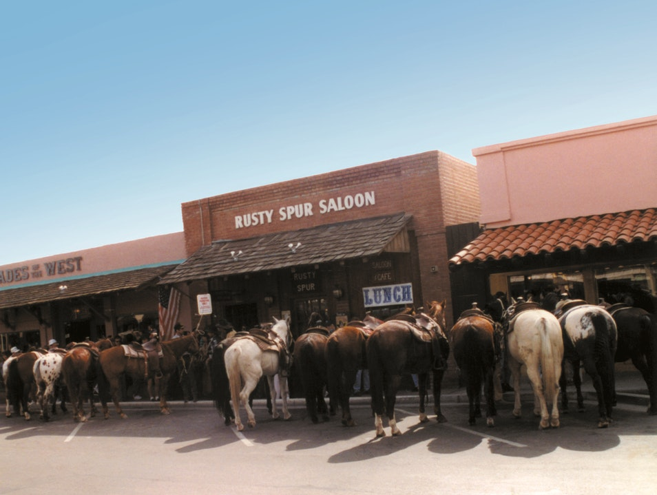 Two-Steppin' at the Spur Scottsdale Arizona United States