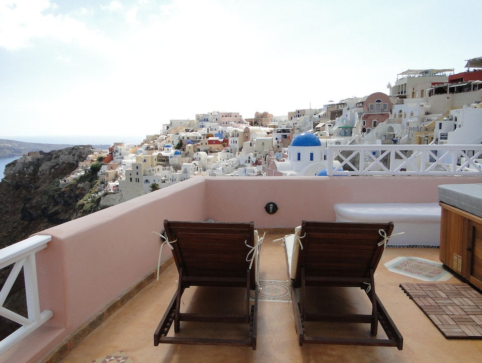 Endless Blue: A Standout Suite in Oia, Santorini Oia  Greece