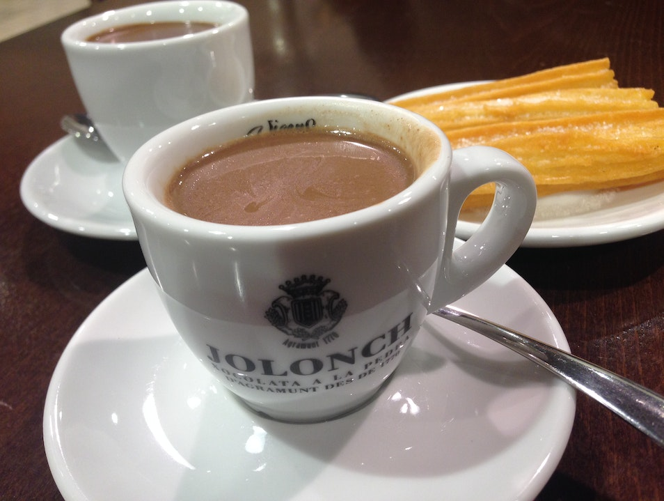 Savor chocolate made the old-fashioned way Agramunt  Spain
