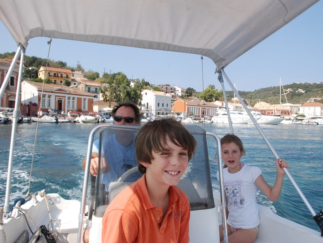 Greek Family Holiday on the Island of Paxos
