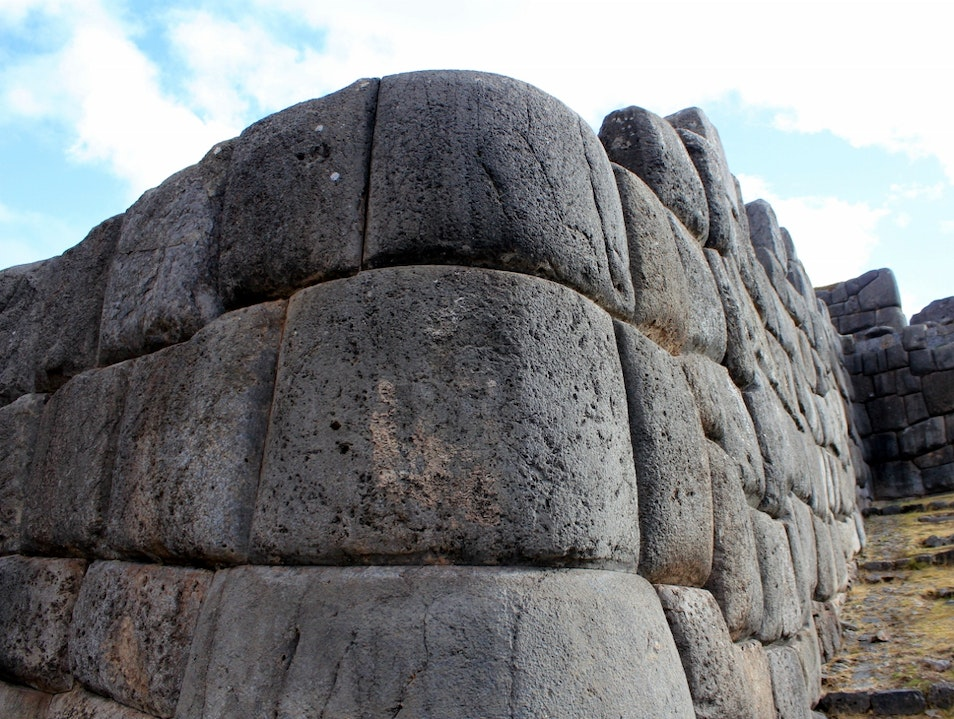 The ancient ceremonial site at Sacsayhuaman. Cuzco  Peru