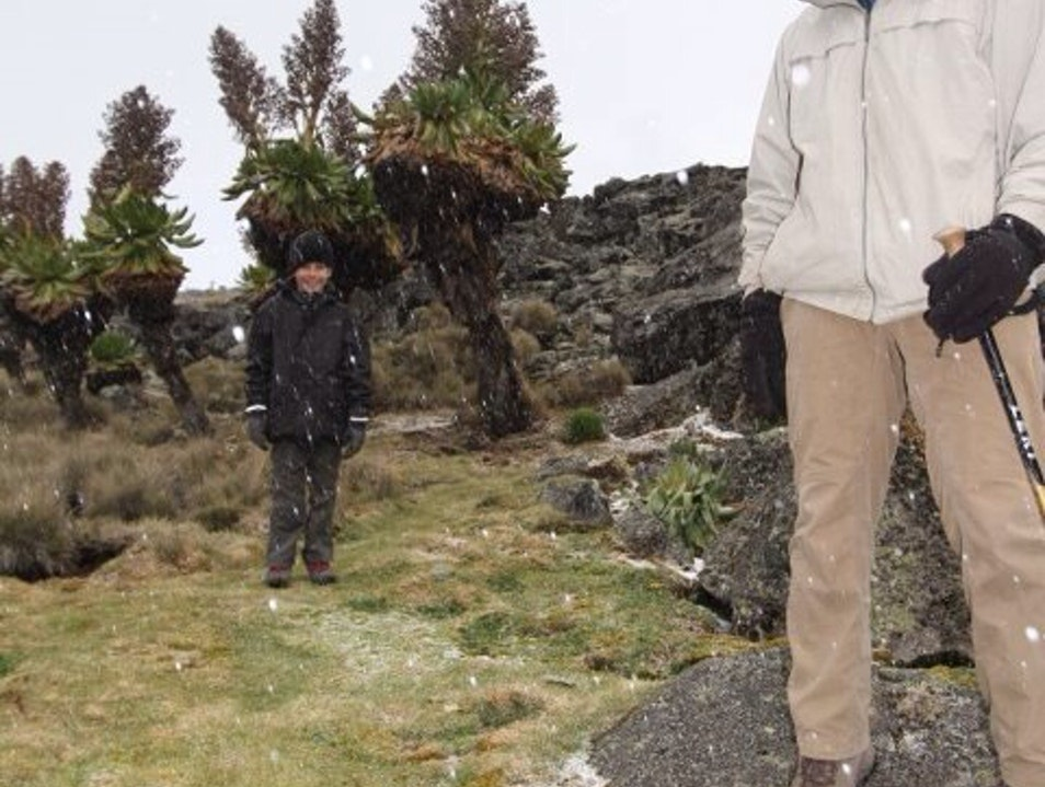 Yes, it Snows on the Equator! Meru County  Kenya