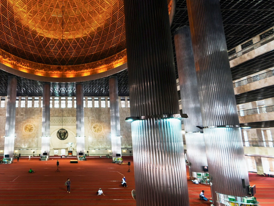 Istiqlal Mosque  Jakarta  Indonesia