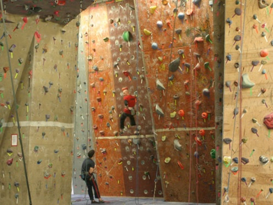 Winter Have You Climbing A Wall? Woburn Massachusetts United States