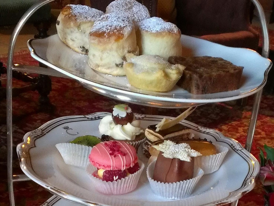 Delectable Afternoon Tea Taplow  United Kingdom
