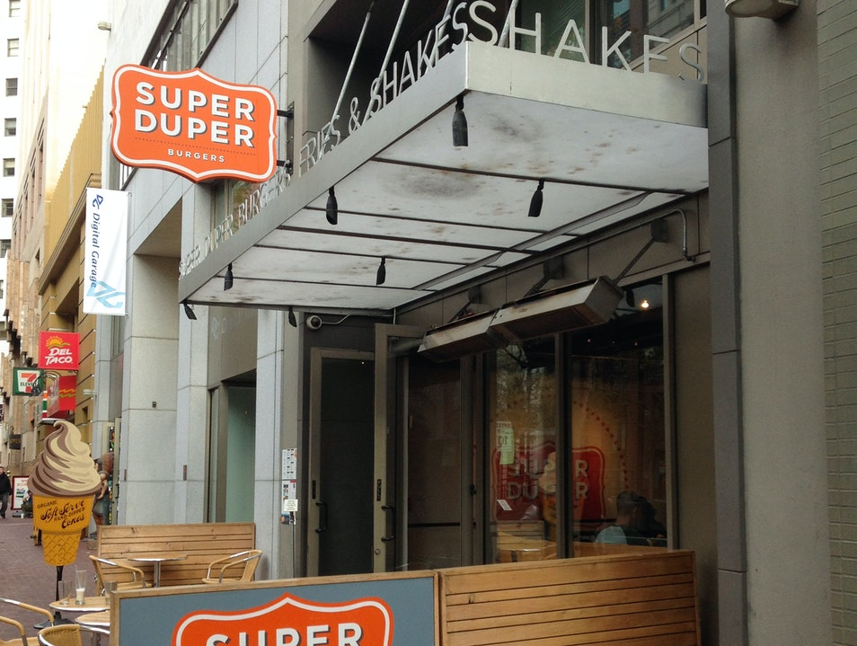 San Francisco's Super Duper Burger