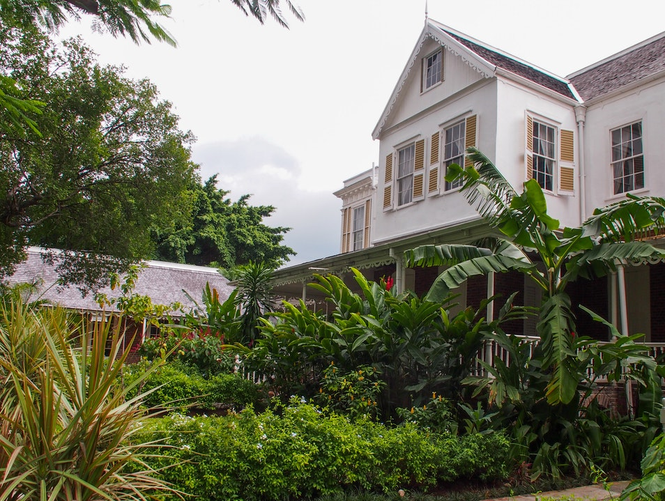 History and Gourmet Delights at Devon House, Jamaica