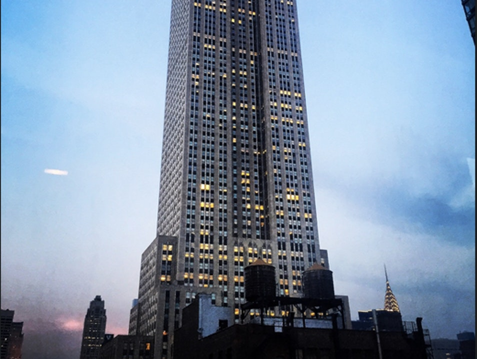 What an architecture nerd's rooftop dream bar looks like  New York New York United States