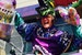 Riding in the Bacchus Parade at Mardi Gras New Orleans Louisiana United States