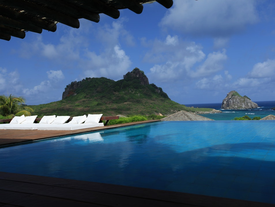 After a hard day at the beach....the pool. Pernambuco  Brazil