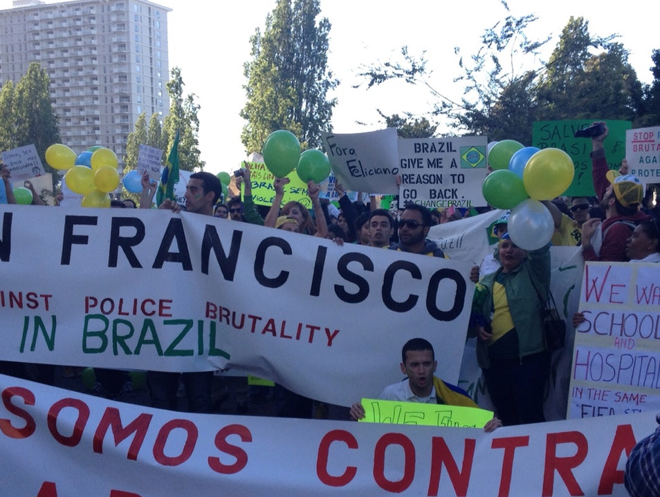 Brasil Demo In San Francisco San Francisco California United States