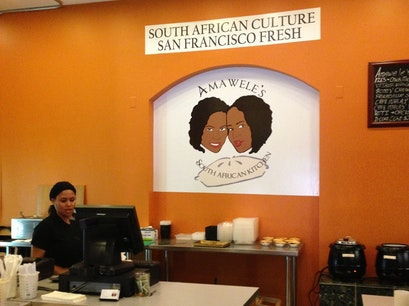 Amawele's South African Kitchen San Francisco California United States