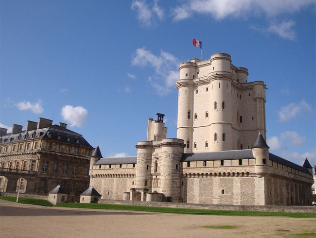 14th c. royal castle in Paris
