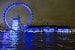 Lightening up the Thames, London eye