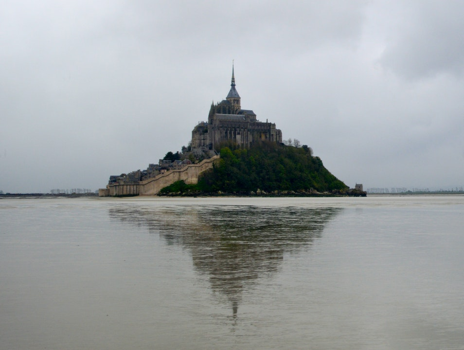 Touching a Mirage: Mont Saint-Michel Le Mont-Saint-Michel  France