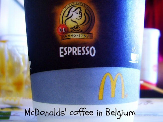 Real coffee @ McDonalds