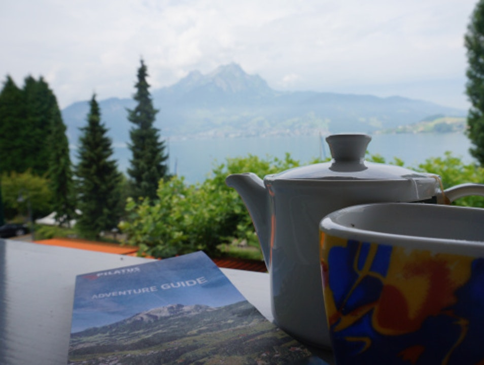 Tea With A View. Lucerne  Switzerland