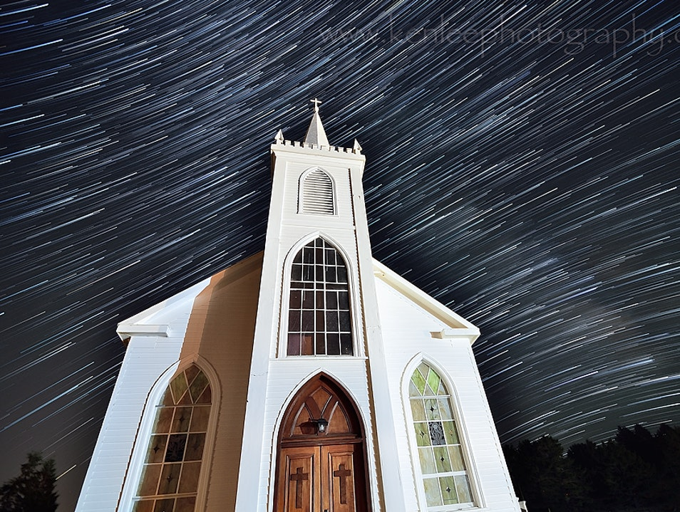 """The Church From """"The Birds"""" (Hitchcock) Bodega California United States"""