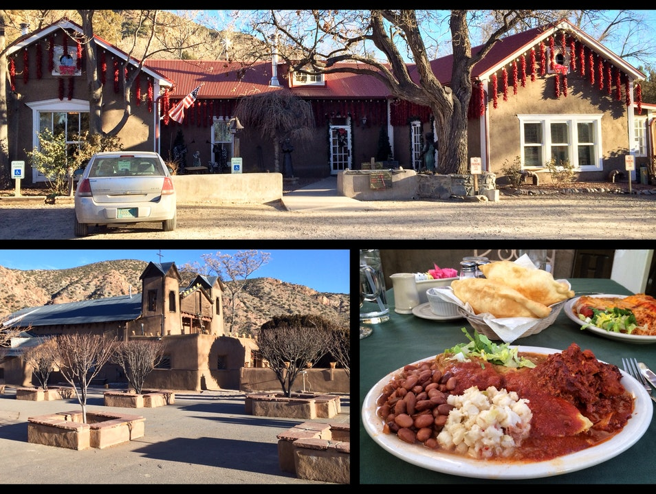 A culinary pilgrimage in the foothills of the Sangre de Cristo Mountains Chimayo New Mexico United States