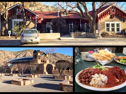 Rancho De Chimayo Restaurante Chimayo New Mexico United States