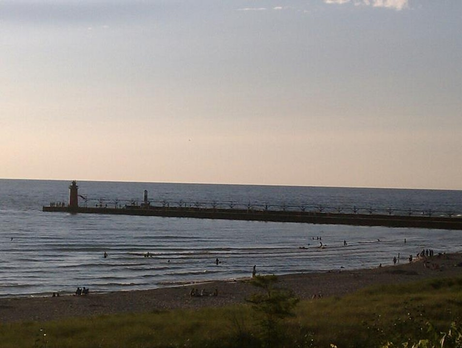 late summer in South Haven South Haven Michigan United States
