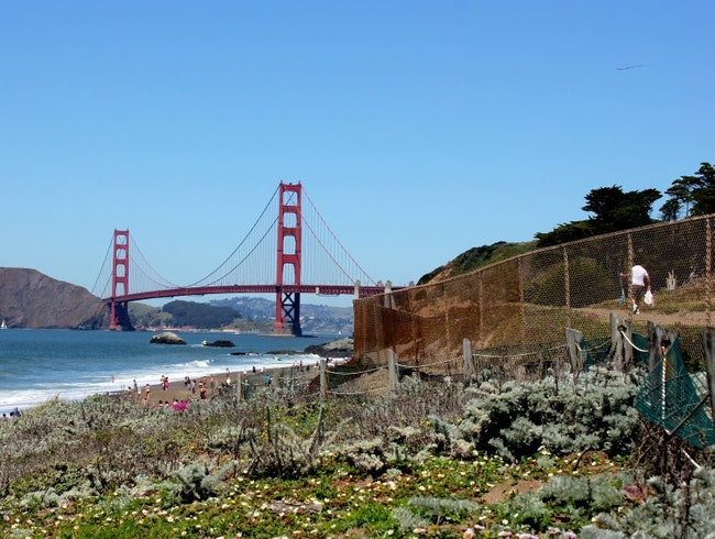 The view from Baker Beach