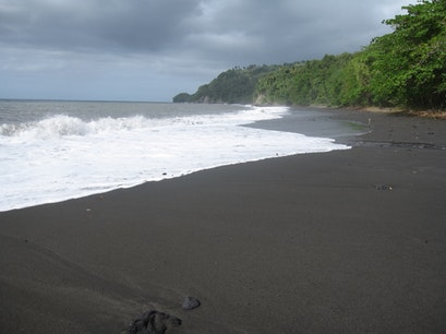 Visit a Black-Sand Beach   Saint Vincent and the Grenadines