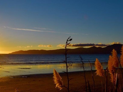 Raumati Beach Paraparaumu  New Zealand