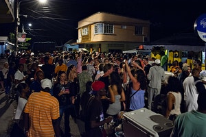 Anse la Raye Friday Night Fish Fry