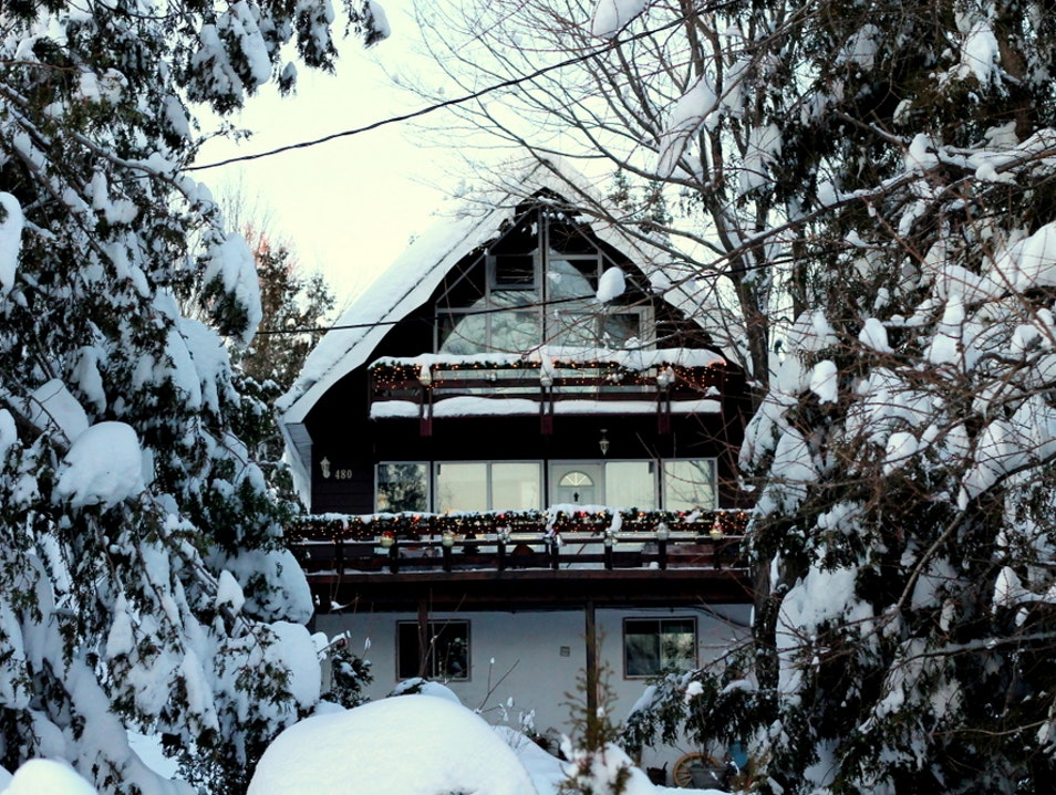 Cozy Apres-Ski in the Eastern Townships Sutton  Canada
