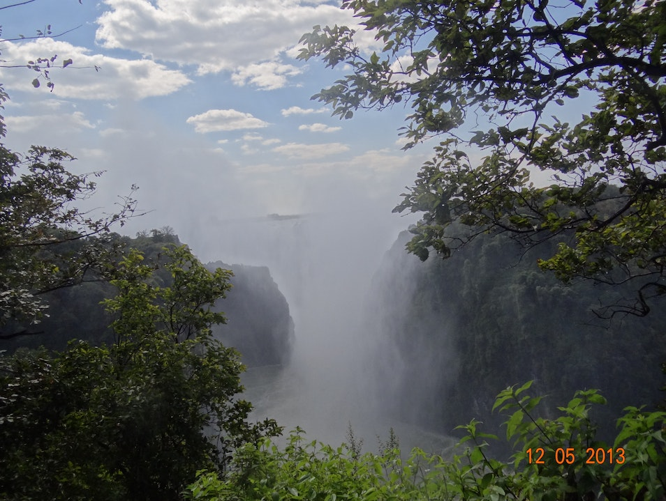 O almighty....only you can do this all Victoria Falls  Zimbabwe