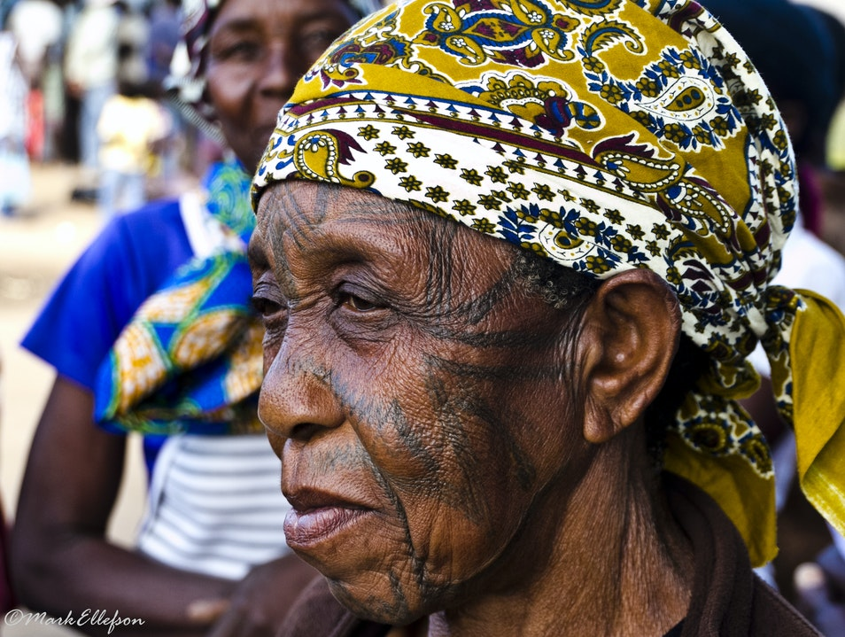 Written on her face Inchope  Mozambique