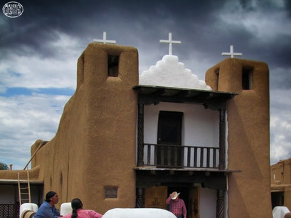 San Geronimo Church at Taos Pueblo Taos Pueblo New Mexico United States