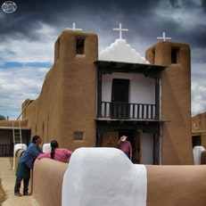 San Geronimo Church at Taos Pueblo