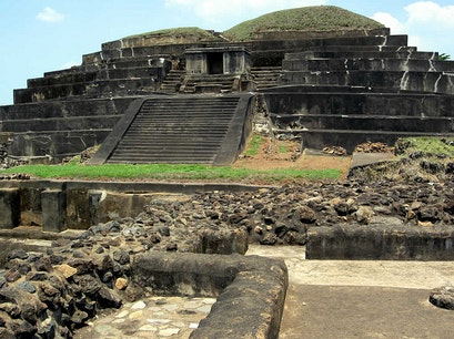 Visit El Salvador's Maya sites, especially Tazumal  San Salvador  El Salvador