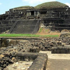 Visit El Salvador's Maya sites, especially Tazumal