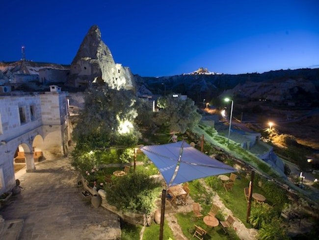 Troglodyte Lodgings: Kelebek Hotel in Göreme, Turkey
