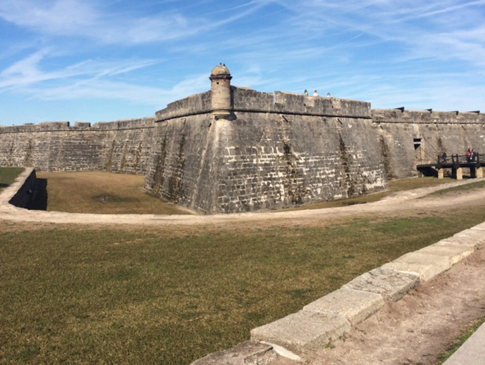 A Mighty Fortress Saint Augustine Florida United States