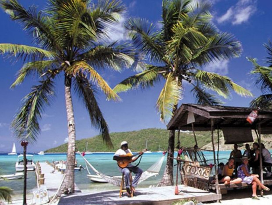 Foxy's Tamarind Bar & Restaurant  Jost Van Dyke  British Virgin Islands